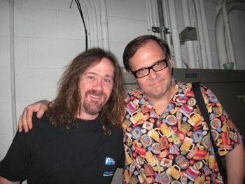 Bill Kopp and Dennis Diken