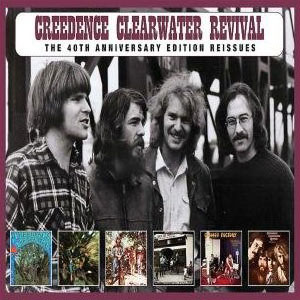 Tidal: listen to creedence clearwater revival (40th anniversary.
