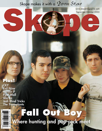Skope Magazine cover story, September 2005