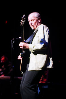 Jethro Tull's Martin Barre onstage. Photo (c) Bill Kopp