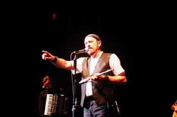 Ian Anderson onstage. Photo (c) Bill Kopp