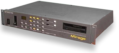 Ensoniq Mirage. My Wayback Machine. They all laughed.