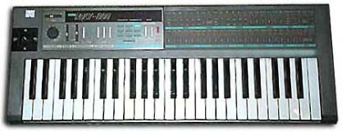 Korg Poly 800. My introduction to the worlds of polyphonic synthesis and 21% APR credit cards.