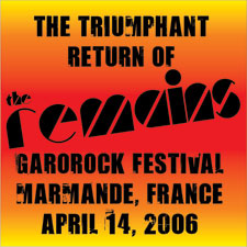 Remains - Garorock 2006