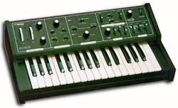 The Moog Rogue. If it had stayed in tune, I woulda kept it forever. Still probably shoulda.