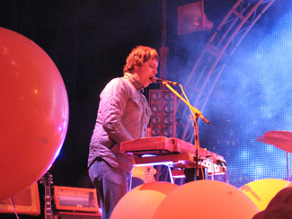 Steven Drozd of The Flaming Lips. Photo (c) Bill Kopp
