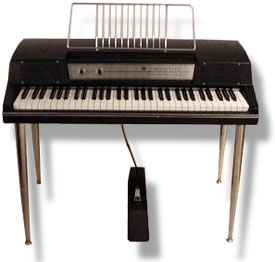 Wurlitzer Electric Piano 200A. Joy to the Fishes in the Deep Blue Sea.