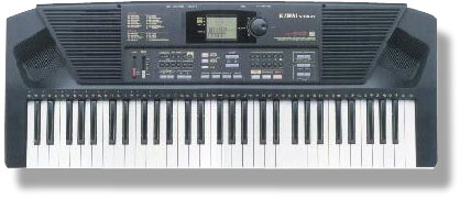 The Kawai X-140D. Got in in an even (!) trade for the Poly-800. Looks so amateur, but plays fine. Now part of my B-unit setup at home.